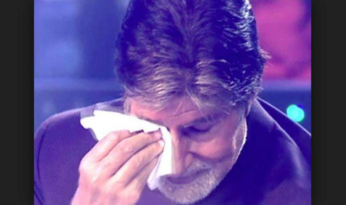 Amitabh Bachchan in Tears After Aishwarya Rai Bachchan And Aaradhya's Discharge From Hospital