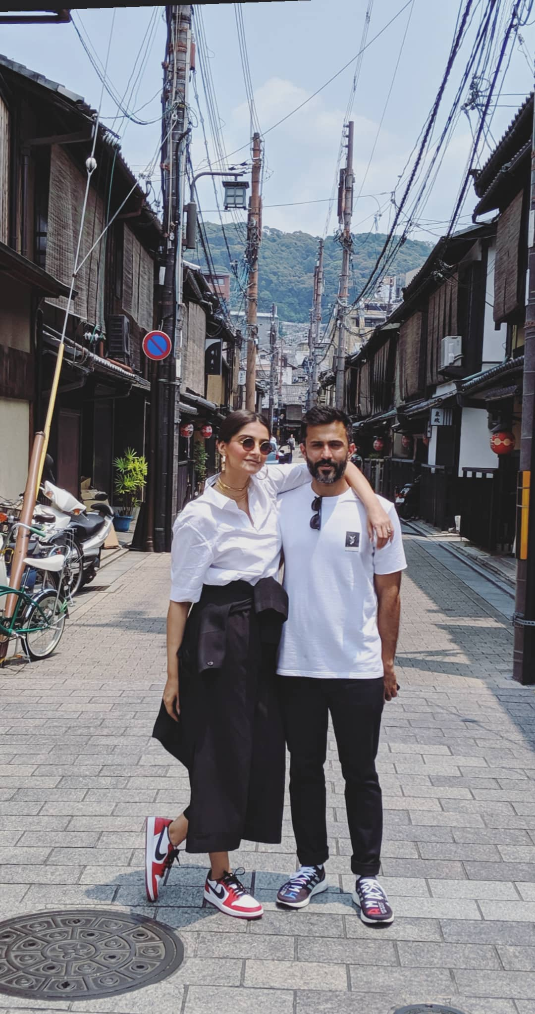 Sonam Kapoor in Japan