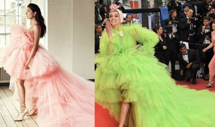 Kareena Kapoor Khan Dons Outfit Similar to Deepika Padukone's Cannes Red Carpet Look- See Pics