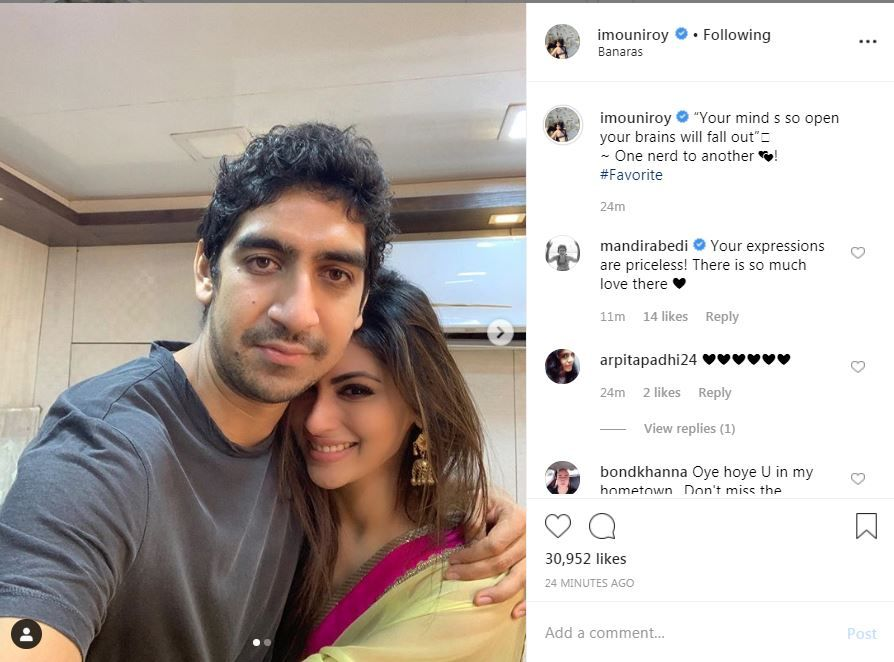 Mouni Roy dating ayan mukerji