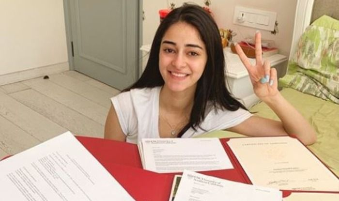 Ananya Panday, student of the year 2