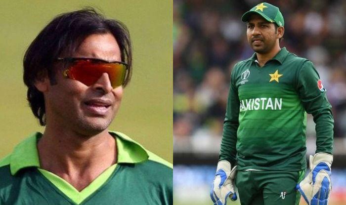 Shoaib Akhtar and Sarfaraz Ahmed.