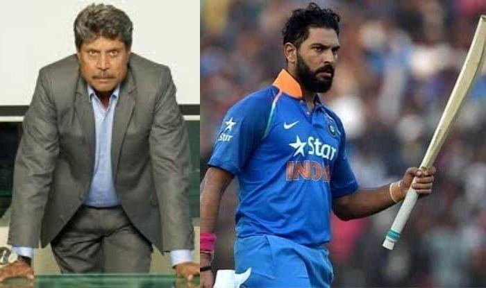 Kapil Dev and Yuvraj Singh