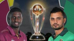 CWC'19: Psychological Advantage With Bangladesh Against West Indies