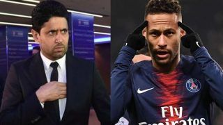 Paris Saint-Germain Boss Warns Neymar Of 'Celebrity Behaviour'