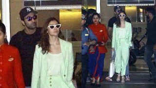 Alia Bhatt Returns to Mumbai With Ranbir Kapoor Without Completing Varanasi Shoot of Brahmastra, Here's Why