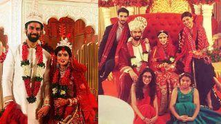 Rajeev Sen-Charu Asopa Wedding Photos: Sushmita Sen, Rohman Shawl Look Stunning With Entire Family