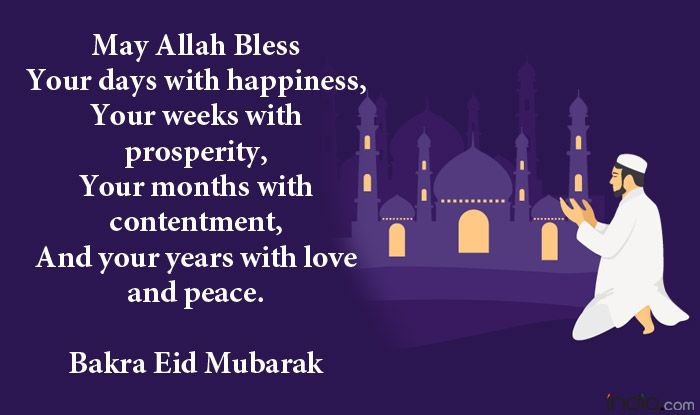 Image result for bakra eid mubarak quotes