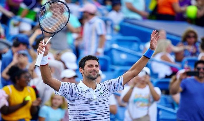 Novak Djokovic Roger Federer Serena Williams Cincinnati Masters Cincinnati Masters 2019 Cincinnati Masters Report Djokovic Federer Advance Djokovic Vs Federer Serena Williams Injury Serena Pulls Out Of Cincinnati Tennis News Stan Wawrinka