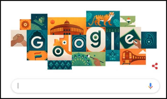 Google Doodle honouring India on its 73rd Independence Day