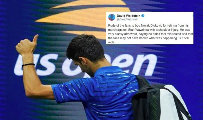 Us Open 201 New York Crowd Bashed For Booing Injured Novak Djokovic Watch Video
