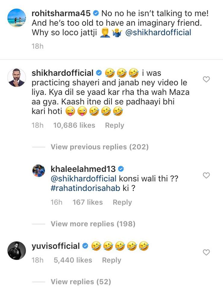 Rohit Sharma, Shikhar Dhawan, Rohit trolls Dhawan, Rohit takes a cheeky jibe at Dhawan, Rohit Sharma reveals Shikhar Dhawan's weird habit, Shikhar Dhawan's weird habit during flight, Rohit Sharma records Shikhar Dhawan's weird habit, Rohit plays prank on Dhawan, Team India, India vs South Africa 2019, Rohit Sharma-Shikhar Dhawan, Rohit-Dhawan Best Opening Pair, Cricket News, Rohit Sharma Cricket Records, Dhawan Cricket Achievements