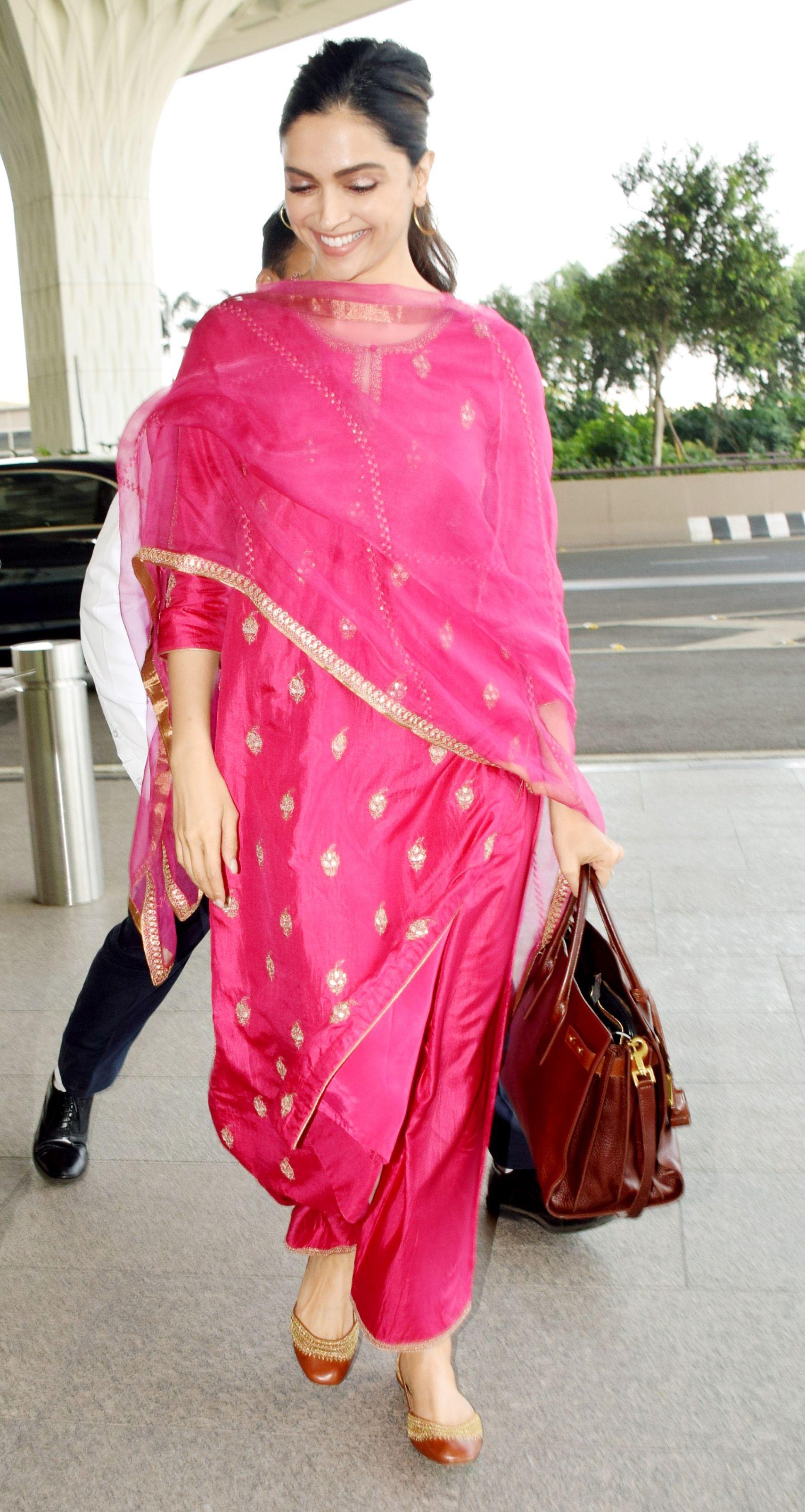 Deepika Padukone, Airport pictures, Harper's Bazaar, Chhapaak
