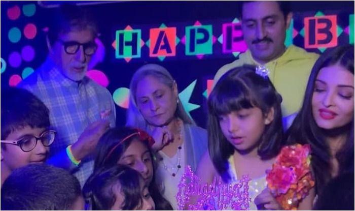 Aaradhya Bachchan rings in her eight birthday