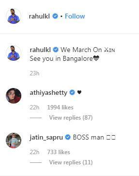 Athiya Shetty, Athiya Shetty news, KL Rahul, KL Rahul news, KL Rahul age, KL Rahul wicketkeeper, KL Rahul gf, Australia tour of India, India vs Australia, Ind vs Aus, Cricket News