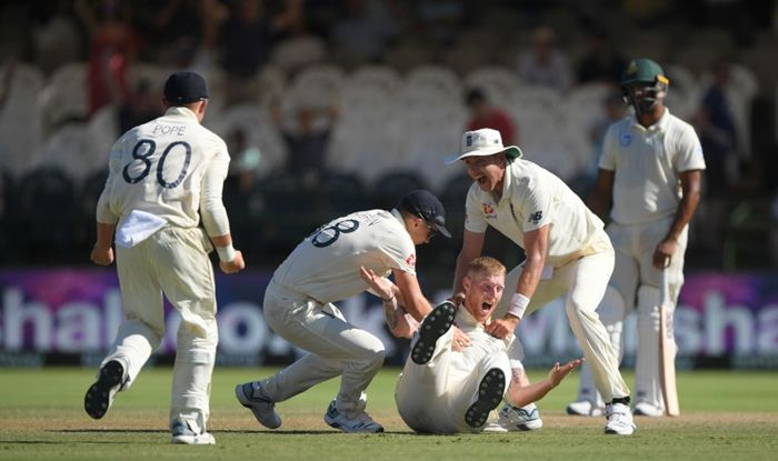 Three late wickets from Stokes helped England overcome a ...