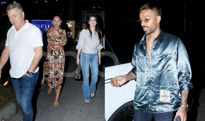 Hardik Pandya Meets Natasa Stankovic's Family Over Dinner After Engagement - Viral Photos