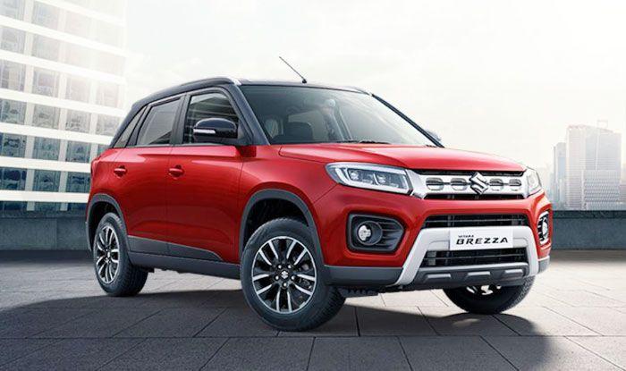 Auto Expo 2020: Maruti Suzuki Unveils New Vitara Brezza ...