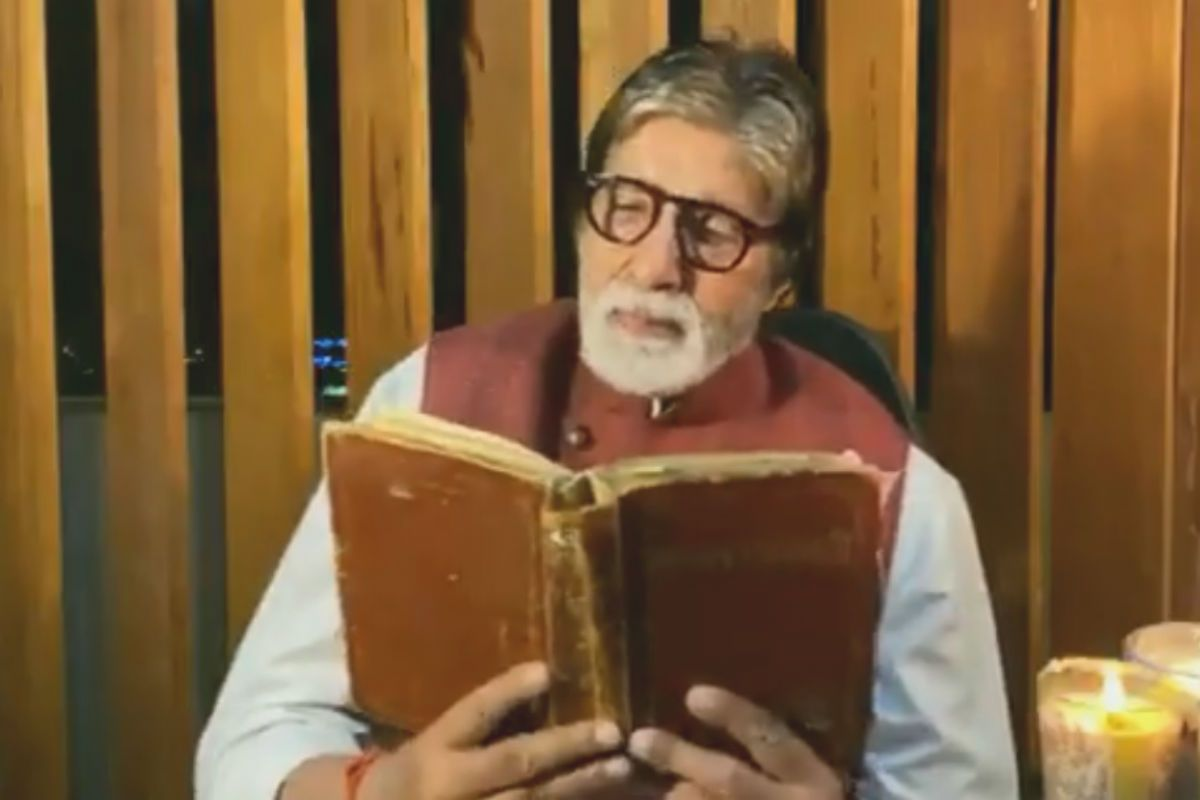 In Amitabh Bachchan's Latest Tweet, he Says He's Missing His Father in The Loneliness of Hospital