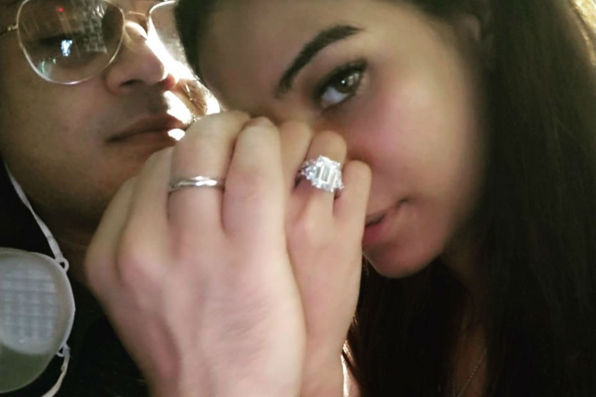 Poonam Pandey Gets Engaged to Sam Bombay, Flaunts The Giant Solitaire in Viral Post