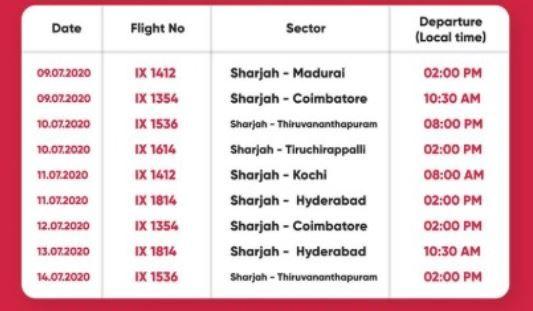 International Flights Nine Additional Flights From Sharjah To India Check Details
