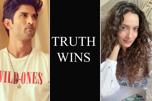 'Truth Wins'! Ankita Lokhande Shares Cryptic Post After Sushant Singh Rajput's Father Files FIR Against Rhea Chakraborty