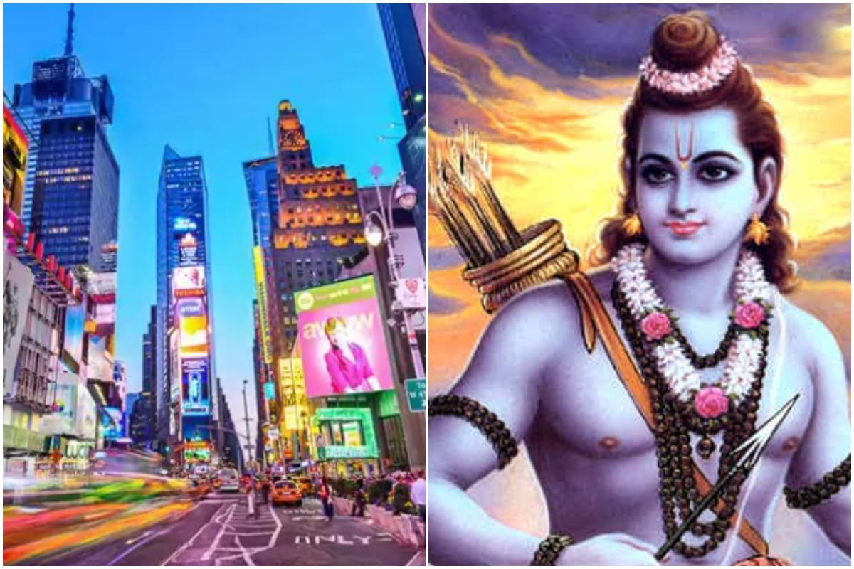 Soon after it was announced that the iconic Times Square in New York will be displaying 3D images of Lord Ram and the temple, many Muslim groups and s
