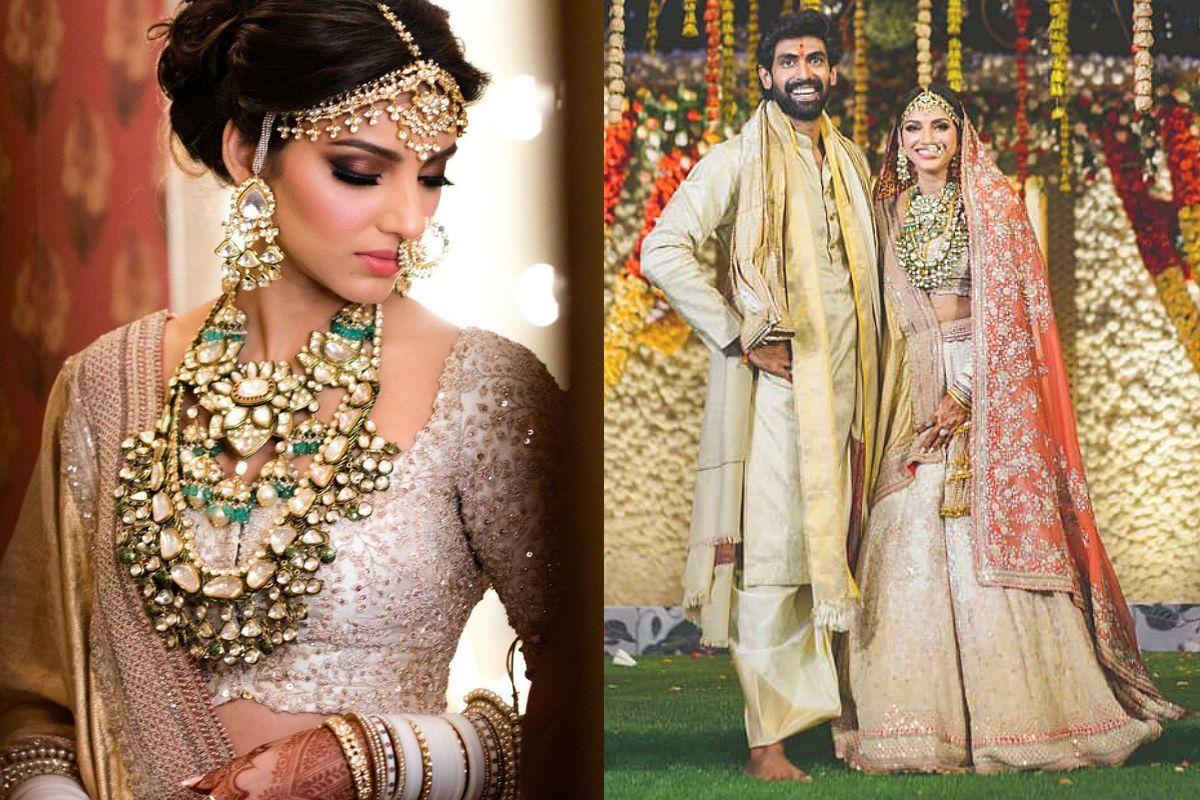 Rana Daggubati-Miheeka Bajaj Wedding: Bride's White Lehenga Grabs All The Eyeballs - See Viral Pics