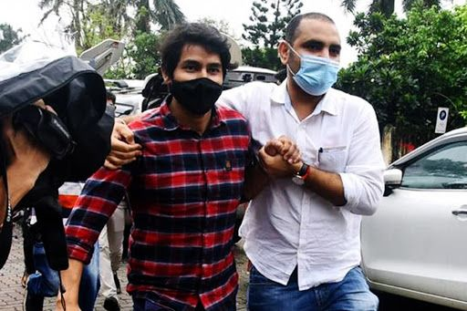 Pictures: CBI Team at Terrace of Sushant Singh Rajput's Residence, Crime Scene Recreated With Siddharth Pithani And Cook