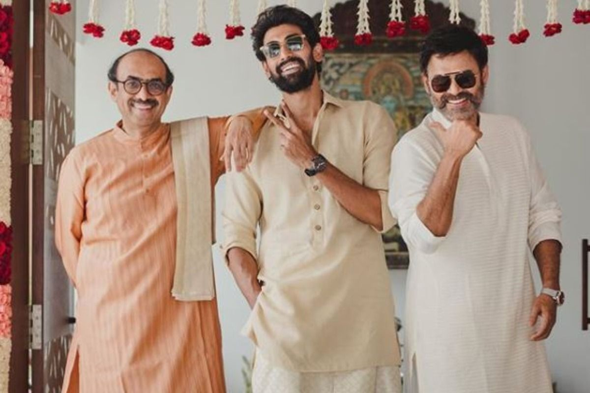 Rana Daggubati-Miheeka Bajaj Wedding: Baahubali Actor is 'Ready' in Cream Kurta-White Dhoti For The Big Day