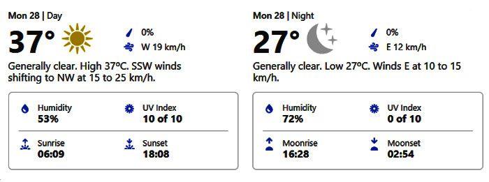 weather dubai september 28, 2020
