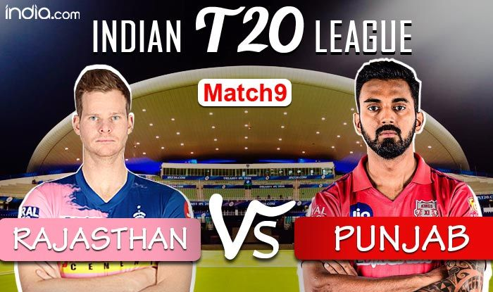LIVE Rajasthan Royals vs Kings XI Punjab, IPL 2020 Match 9 Live Cricket Score And Updates: Samson, Tewatia Fi - India.com