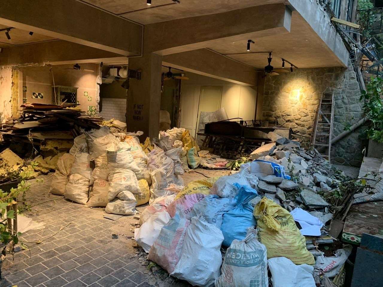 Kangana Ranaut demolished office pics