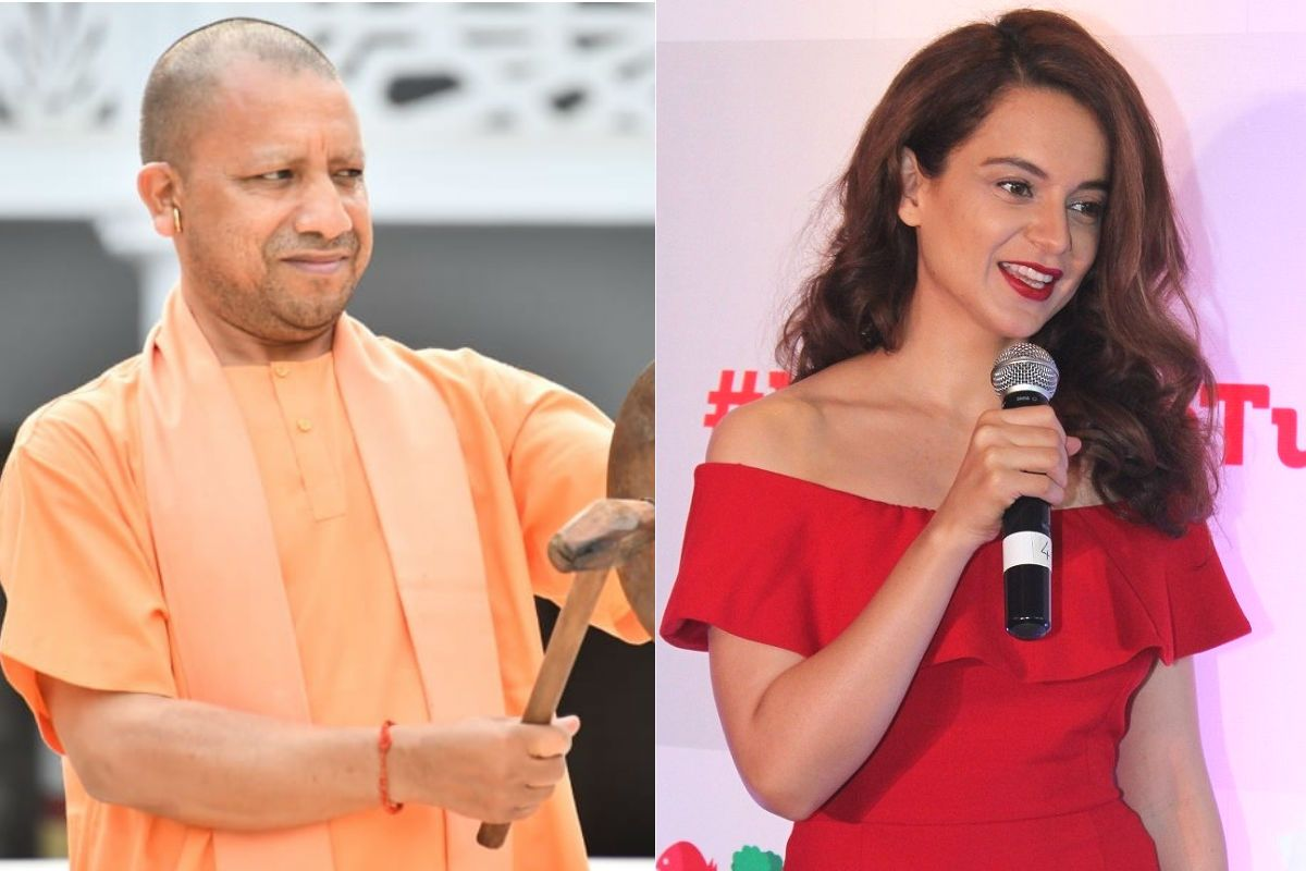 Kangana Ranaut Wants 'Terrorism Free' Film Industry After Yogi Adityanath's  Announcement | India.com