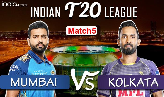 KKR vs MI Dream11 IPL 2020 Live Cricket Score And Updates: Rana OUT; Morgan, Russell in - India.com