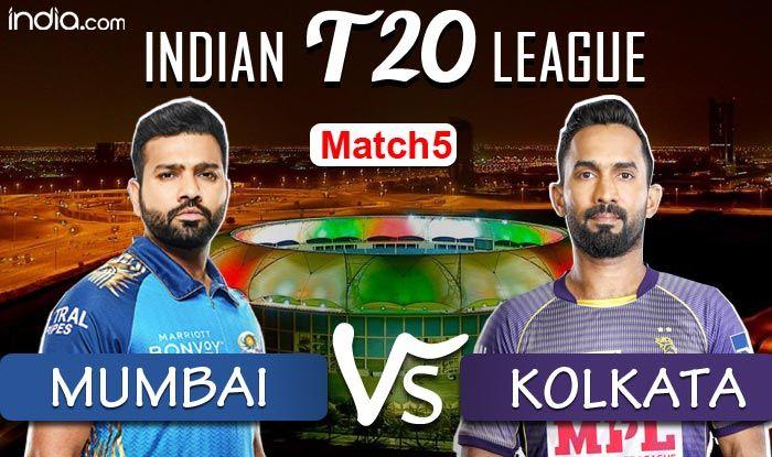 KKR vs MI Dream11 IPL 2020 Highlights: Rohit Sharma, Jasprit Bumrah Star as Mumbai Beat Kolkata by 49 Runs - India.com