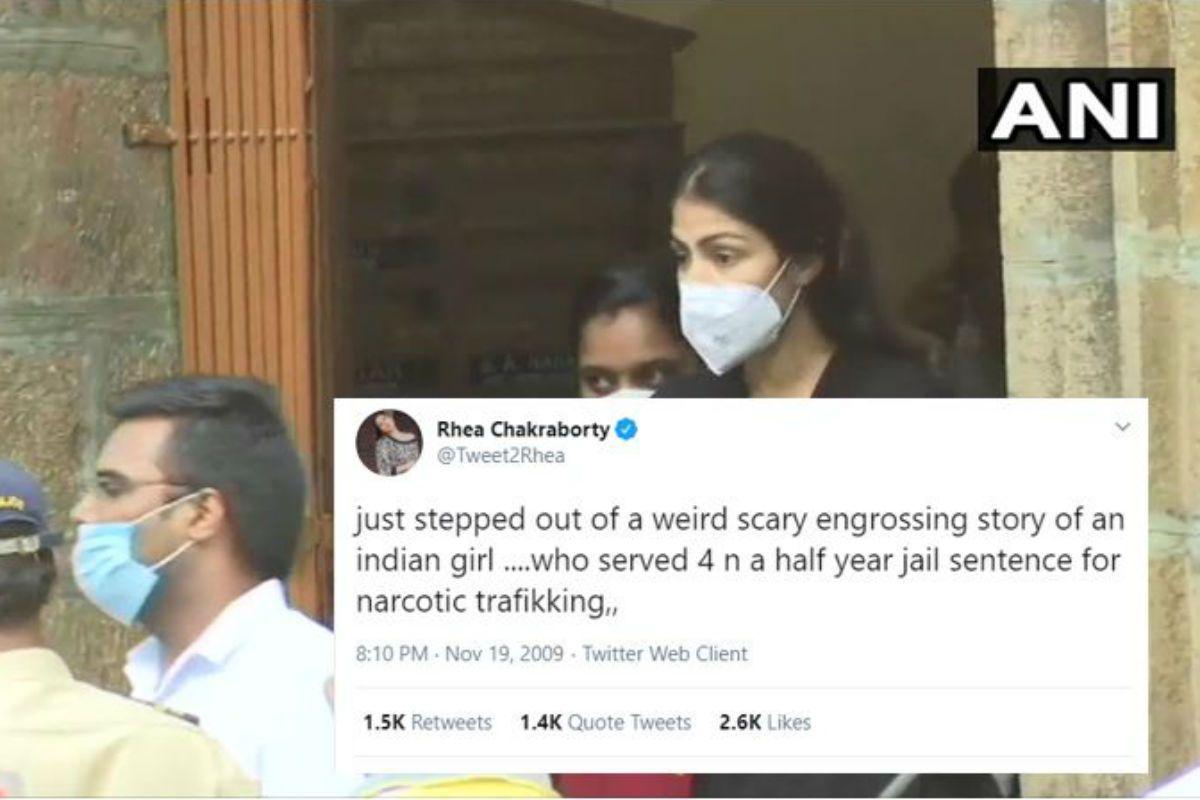 Rhea Chakraborty's 2019 Tweet on Narcotic Trafficking Goes Viral