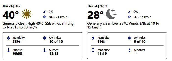 dubai weather forecast september 24