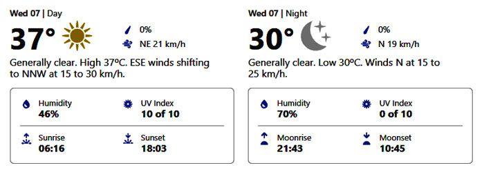 wednesday weather abu dhabi october 6 2020