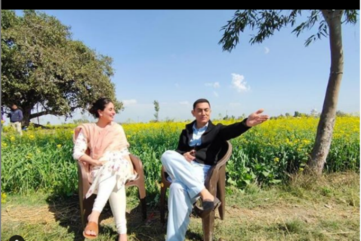 Kareena Kapoor Khan Wraps up Laal Singh Chaddha With Amir Khan in Delhi, Shares Pic