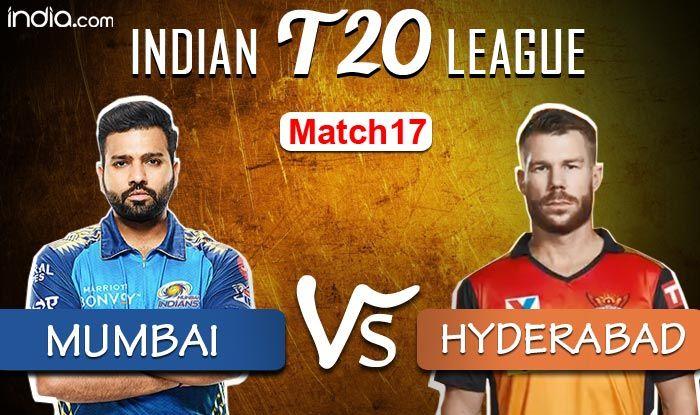 IPL 2020 Live Cricket Score MI vs SRH Latest Updates For Today's Match: Mumbai Indians Beat Sunrisers Hyderab - India.com