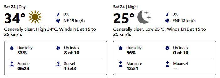 weather forecast october 24 abu dhabi