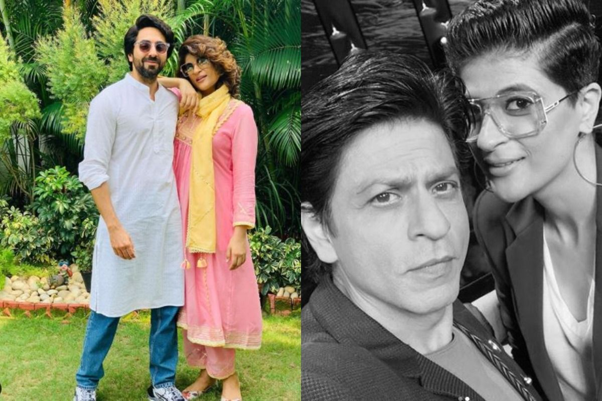 SRK Reveals Ayushmann-Tahira's Favourite Make-out Spot Was Cinema While Watching His Films