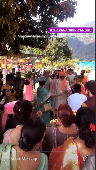 Mirzapur 2 Actor Priyanshu Painyuli and Vandana Joshi's Grand Wedding Entry in ATV Bike- Watch Videos