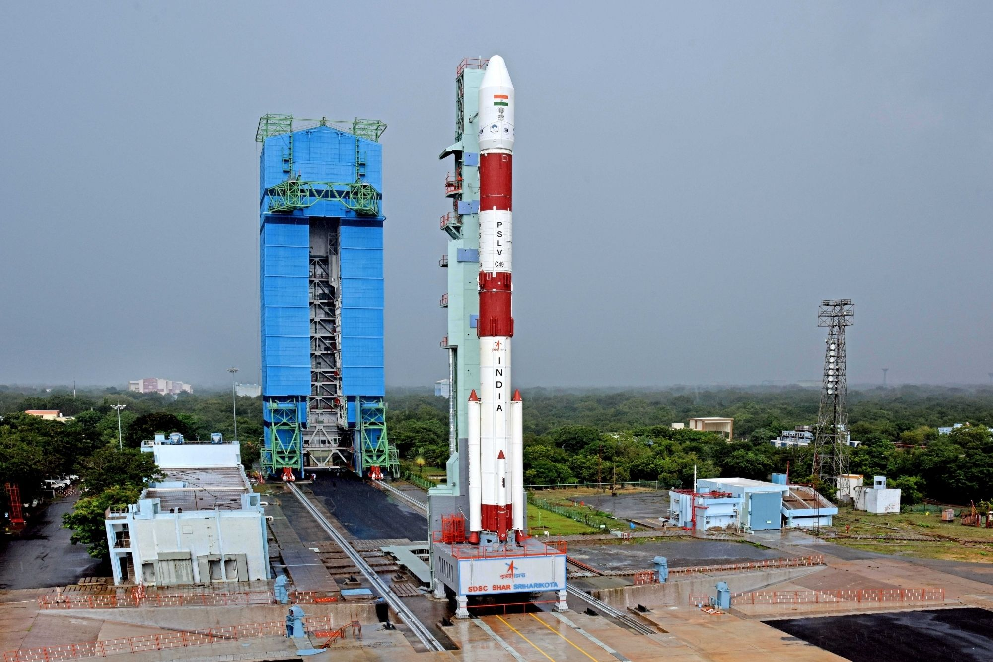 Countdown For Launch of India's Radar Imaging Satellite PSLV-C49 Begins on Friday