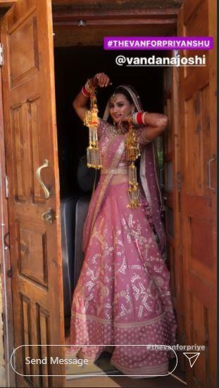 Mirzapur 2 Actor Priyanshu Painyuli and Vandana Joshi's Grand Wedding