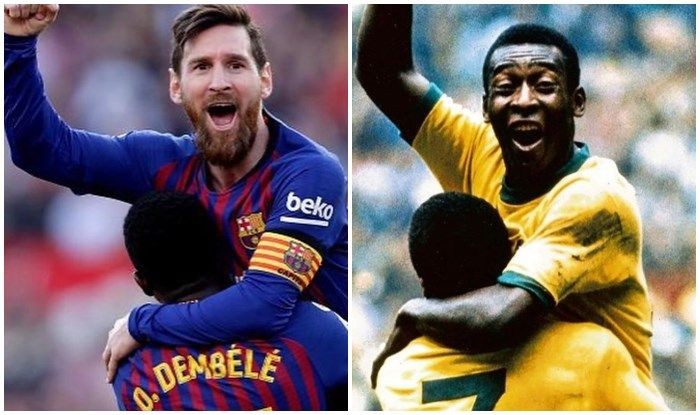 Peles Message For Lionel Messi After Barcelona Striker Equals His Record is  Gold   Football News   LaLiga News
