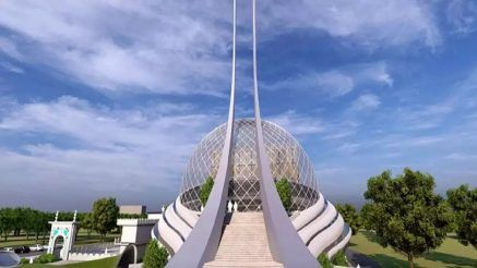 First Look Of Ayodhya Mosque And Hospital Unveiled Blueprint Reveals Futuristic Design See Photos