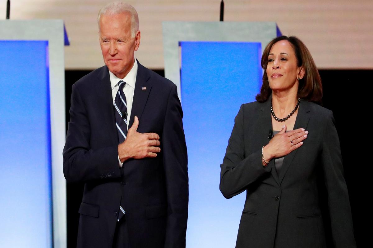 46th US President Joe Biden White House 2021 Inauguration Challenge Gold Coin