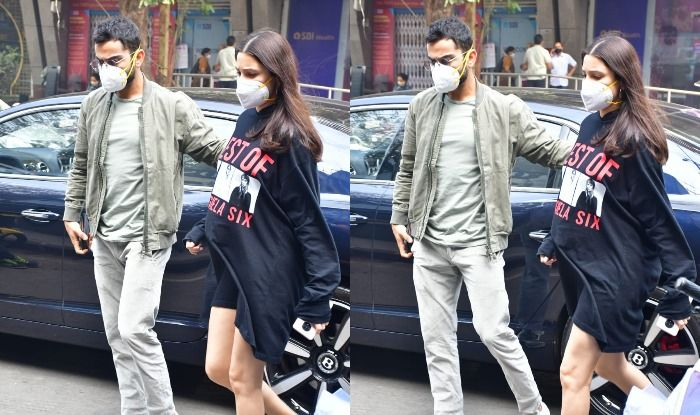 Anushka Sharma with husband Virat Kohli